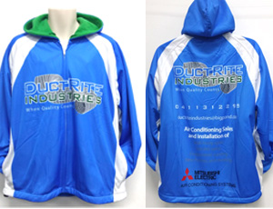 sublimated fleece hoodies - A1 Apparel