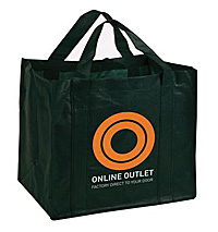 shopping bags - printed custom logo